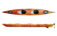 DAG Biwok Hiluxe kétszemélyes tengeri kajak