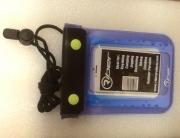 RIBER vízhatlan telefontok fülhallgató csatlakozóval