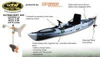 RTM Rytmo Angler Premium Pack elektromos hajtású horgászkajak_Torqueedo Ultralight 403 electric motorral