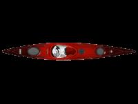 Wavesport Hydra 452 Cherry Bomb HiLuxe tengeri kajak