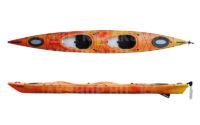 DAG Biwok Hiluxe Sun kétszemélyes tengeri kajak