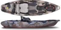 Feelfree Lure 10 sonar pod prémium pergetős horgászkajak