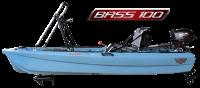 Jonny Boat USA BASS 100 prémium pergetős horgászkajak / motorcsónak